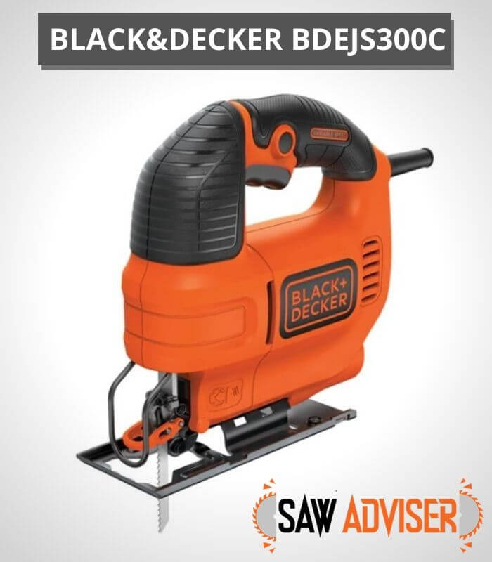 Black and decker best corded jigsaw