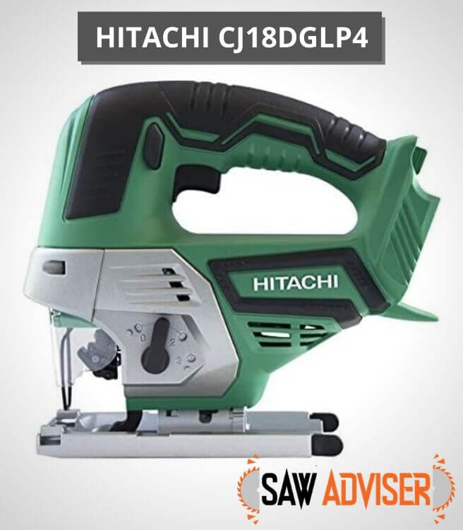 Hitachi 18V Cordless Lithium-Ion Jig Saw - CJ18DGLP4