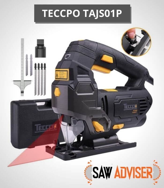 TECCPO variable speed Jigsaw with Laser