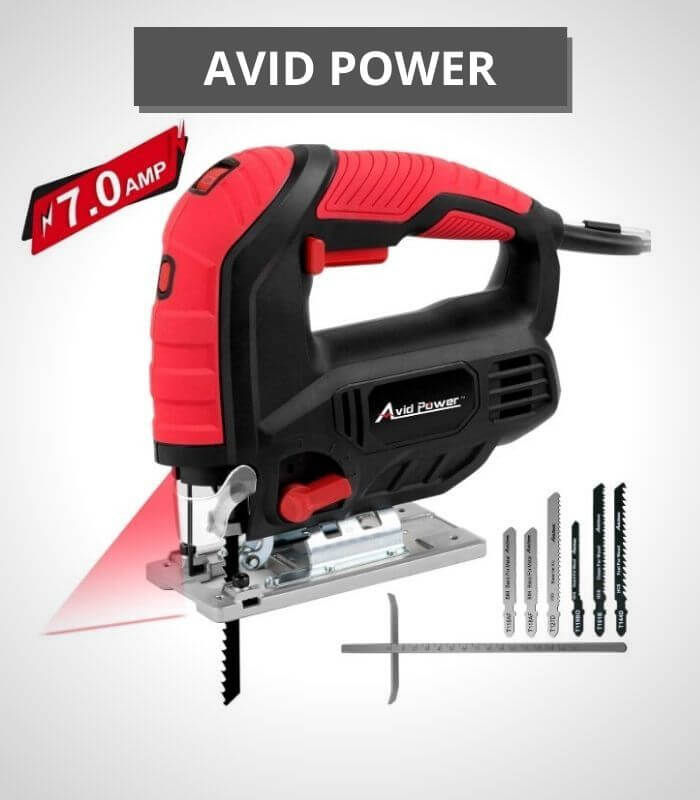 Avid Power 7.0A Jig Saw with Laser Guide - AJS268