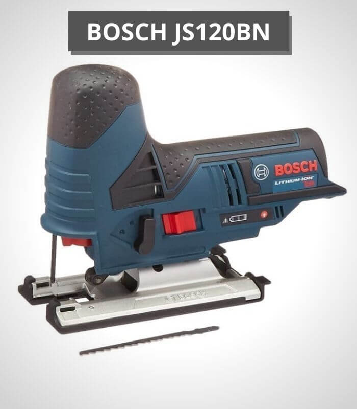 Bosch 12-volt Max Jig Saw with Exact-Fit Insert Tray - JS120BN