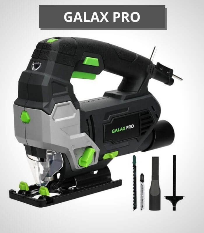 GALAX PRO 6.5 Amp 3000 SPM Jig Saw - (best jigsaw for thick wood)