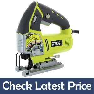Ryobi JS481LG 4.8 Amp Corded Variable Speed Orbital Jig Saw