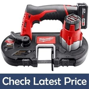 Milwaukee Cordless Sub-Compact best Bandsaw under 200 Kit