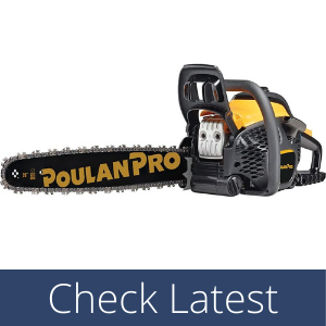 Poulan Pro 20 in. 50cc 2-Cycle Gas Chainsaw for loggers